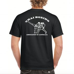Mettle Martial Arts Academy Thai Boxing Association (Adelaide Hills Branch) Tee - Back